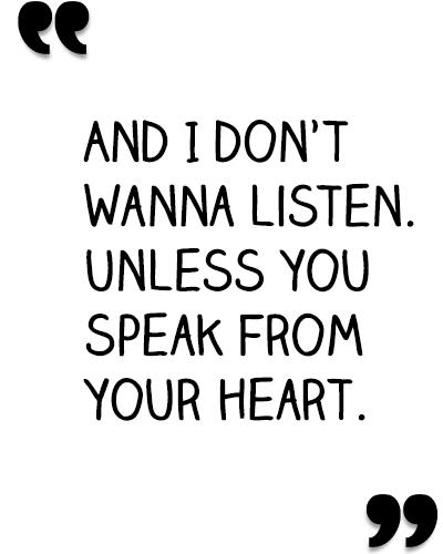 unlessyouspeakfromyourheart